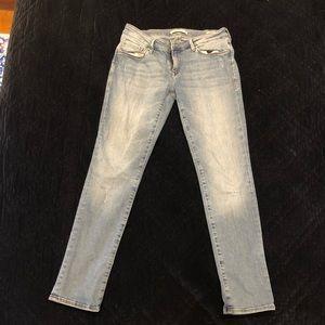 MAVI Angie Distresses Skinny Jeans Size 6